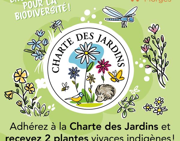 Charte des Jardins – Une raison de plus d'y adhérer!
